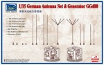 1-35-German-Antenna-Set-and-GG400-Generator-Model-kits-x2