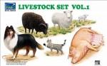 1-35-Livestock-Set-Volume-1-Pig-Sheep-Lamb-Goat-Sheep-Dog-Cat