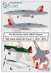 1-48-McDonnell-Douglas-F-A-18C-Hornet-+-M-S-406-+-P-51-100-years-Swiss-AF-1914-2014