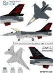 1-72General-Dynamics-F-16AM-Falcon-FA-68-70-Ans-350-Sqn-2011-+-Stencils-
