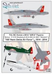McDonnell-Douglas-F-A-18C-Hornet-+-M-S-406-+-P-51-100-years-Swiss-AF-1914-2014