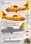 1-72-Securite-Civile-Francaise-Part-1-CL-415-+-Lockheed-C-130A-Hercules-This-decals-set