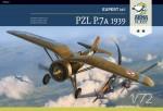1-72-PZL-P-7a-Expert-Set-1939-Includes-plastic-PE-decal-Cartograf-mask