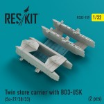 1-32-Twin-store-carrier-w-BD3-USK-Su-27-30-33