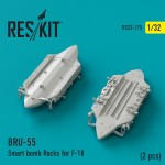1-32-BRU-55-Smart-bomb-Racks-for-F-18-2-pcs-