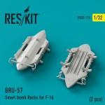 1-32-BRU-57-Smart-bomb-Racks-for-F-16-2-pcs-