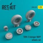 1-32-TBM-3-Avenger-NAVY-wheels-set