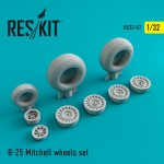 1-32-B-25-Mitchell-wheels-set