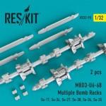 1-32-MBD3-U6-68-Multiple-Bomb-Racks-2-pcs