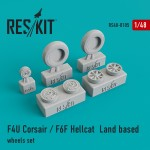 1-48-F4U-Corsair-F6F-Hellcat-Land-based-wheels-set