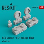 1-48-F4U-Corsair-F6F-Hellcat-NAVY-based-wheels-set