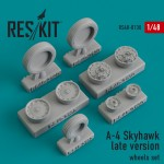 1-48-A-4-Skyhawk-late-wheels-set-HASITAHOBBYB