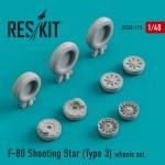 1-48-F-80-Shooting-Star-Type-3-wheels-HAS-MONO