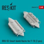 1-48-BRU-55-Smart-bomb-Racks-for-F-18-2-pcs-