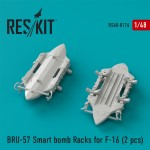 1-48-BRU-57-Smart-bomb-Racks-for-F-16-2-pcs-