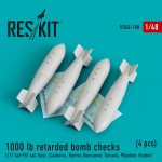 1-48-1000-lb-retarded-bomb-checks-4-pcs-