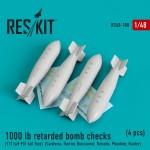 1-48-1000-lb-retarded-bomb-checks-4-pcs-