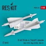 1-48-R-40-TD-AA-6-Acrid-missile-2-pcs-