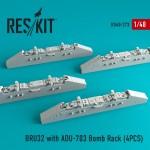 1-48-BRU32-with-ADU-703-Bomb-Rack-4pcs-