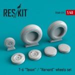 1-48-Texan-T-6-wheels-HASITALMONOREV
