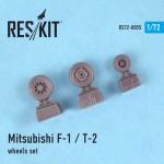 1-72-Mitsubishi-F-1-T-2-wheels-set