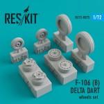 1-72-Convair-F-106B-Delta-Dart-wheels-set-TRUM