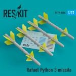 1-72-Rafael-Python-3-missile-4-pcs-