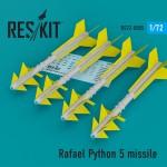 1-72-Rafael-Python-5-missile-4-pcs-