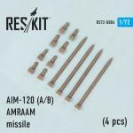 1-72-AIM-120-A-B-AMRAAM-Missile-4-pcs-