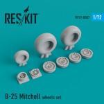 1-72-N-A-B-25-Mitchell-wheels-set-HASAIRFAZ