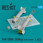 1-72-KAB-500Kr-500kg-Guided-bomb-2-pcs-