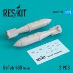 1-72-BETAB-500-Bomb-2-pcs-