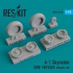 1-72-A-1-Skyraider-late-wheels-set-ACADHASITA