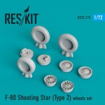 1-72-F-80-Shooting-Star-Type-2-wheels-AIRF-SWD