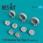 1-72-F-80-Shooting-Star-Type-3-wheels-AIRF-SWD