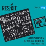 1-72-Super-Mystere-B-2-upgrade-PE-set-SP-HOB-
