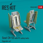 1-48-CH-53-MH-53-Seat-w-PE-safelty-belts-ACAD
