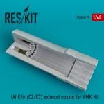 1-48-IAI-Kfir-C2-C7-exhaust-nozzles-AMK