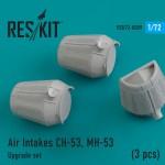 1-72-Air-intakes-CH-53-MH-53-3-pcs-