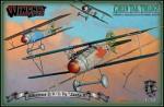 1-32-Albatros-D-V-D-Va-Jasta-5-Green-Tail-Trilogy-set-includes-3x-models