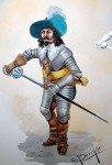54mm-Imperial-Officer-30s-Years-war-1630