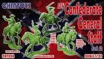 1-32-ACW-American-Civil-War-mounted-Confederate-General-Staff-3