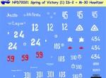 RARE-1-72-Spring-of-Victory-Part-1-Josef-Stalin-2-Heavy-TankBonus-M30-122mm-Howitzer-Berlin-SALE