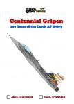 1-72-Centennial-Gripen-100-Years-of-the-CZECH-AF-livery