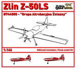 1-144-Zlin-Z-50LS-Grupa-Akrobacyjna-Zelazny