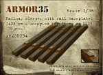 1-35-Railway-sleeper-with-rail-baseplate-1435-mm-occupied-territory-of-USSR-10-pcs-