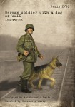 1-35-German-soldier-with-a-dog-of-WWII