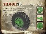 1-35-ZiL-131-Wheel-with-flat-tyre-M93-Version-II1pc