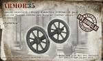 1-35-Spoked-Wheelset-Wheel-diameter-1050mm-2-pcs-