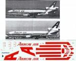 1-200-McDonnell-Douglas-DC-10-ARROW-AIR-Bright-Red-stripes-N904WA-N905WA